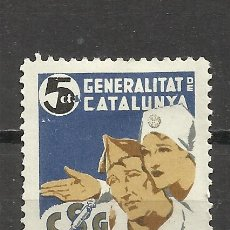 Sellos: 1663-SELLO GUERRA CIVIL VIÑETA REPUBLICA CONSELL SANITAT DE GUERRA GENERALITAT CATALUNYA.MILITARIA,M. Lote 44266088