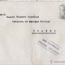 Sellos: SOBRE CIRCULADO CON CENSURA DE CANGAS DE ONÍS (ASTURIAS). 1944. Lote 44310991