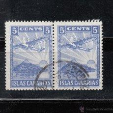 Sellos: ISLAS CANARIAS. 5 TS. PAREJA DE DOS SELLOS. Lote 45056457