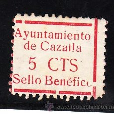 Sellos: ,,LOCAL NACIONALISTA CAZALLA (SEVILLA) 211 SIN GOMA,. Lote 45522637