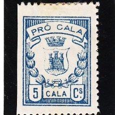 Sellos: ,,LOCAL NACIONALISTA CALA (HUELVA) 181 CON CHARNELA, . Lote 45523610