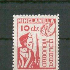 Francobolli: MINGLANILLA (CUENCA). Lote 45595145