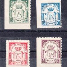 Sellos: ,,LOCAL NACIONALISTA BOLLULLOS DEL CONDADO (HUELVA) B101/4 CON CHARNELA, . Lote 45600871