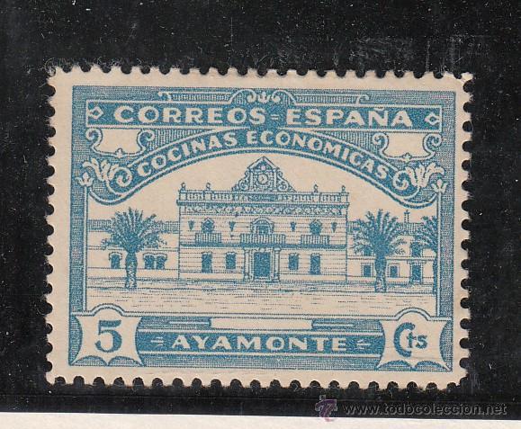 ,,LOCAL NACIONALISTA AYAMONTE (HUELVA) 97 CON CHARNELA, (Sellos - España - Guerra Civil - Locales - Usados)