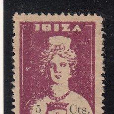 Sellos: ,,LOCAL NACIONALISTA IBIZA (BALEARES) 372 SIN GOMA, . Lote 45997627