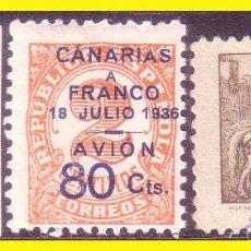 Sellos: CANARIAS 1937, EDIFIL Nº 11 A 13 * * SERIE COMPLETA. Lote 46164829