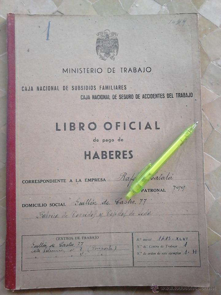 Sellos: GRAN LIBRO LLENO DE + 120 SELLOS FISCALES VARIOS TIPOS Y VALORES,AÑO 1943,DESTACANDO LOS FISCALES DE - Foto 7 - 46326541