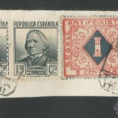 Sellos: VIÑETA CIRCULADA - TORTOSA - (V-1551). Lote 46422341