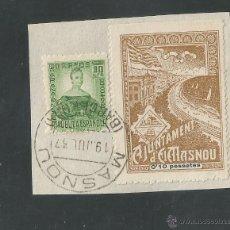 Sellos: VIÑETA CIRCULADA - EL MASNOU - (V-1565). Lote 46422571