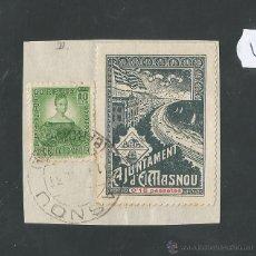 Sellos: VIÑETA CIRCULADA - EL MASNOU - (V-1568). Lote 46422718