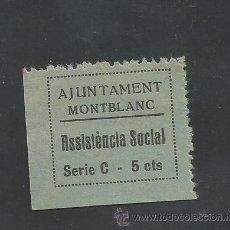 Sellos: VIÑETA MONTBLANC - (V-1557). Lote 46422846