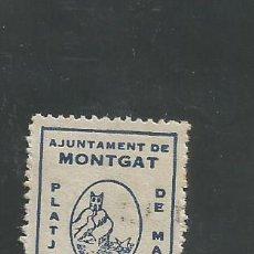 Sellos: VIÑETA MONTGAT - (V-1561). Lote 46423098