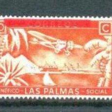 Sellos: LAS PALMAS (CANARIAS). G´´ALVEZ B510/12 *. Lote 46648858