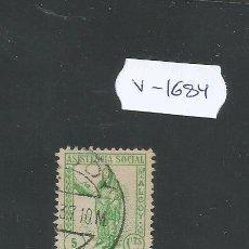 Sellos: VIÑETA GUERRA CIVIL - ASISTENCIA SOCIAL - (V-1684). Lote 47111278