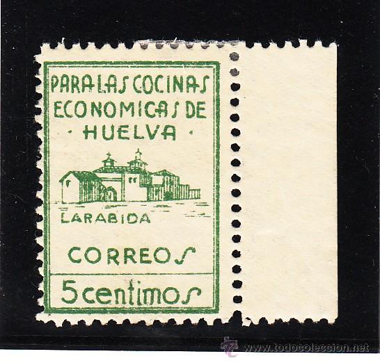 ,,LOCAL NACIONALISTA HUELVA 329 CON CHARNELA, (Sellos - España - Guerra Civil - Locales - Usados)