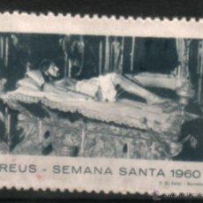 Sellos: CL7-20-VIÑETA SEMANA SANTA REUS 1960 ** SIN FIJASELLOS. Lote 47714929