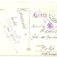 Sellos: GUERRA CIVIL. CENSURA DE GUERRA DE ENTRADA. VALENCIA. Lote 48225725