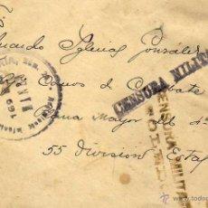 Sellos: CENSURA MILITAR TOLEDO. 29 DE MARZO DE 1939 GUERRA CIVIL. CONSERVA LA CARTA.. Lote 48239488