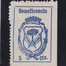Sellos: MANZANILLA ( HUELVA ) . BENEFICENCIA 5 CTS . NUEVO (*) VIÑETA / LOCAL GUERRA CIVIL .. Lote 48261598
