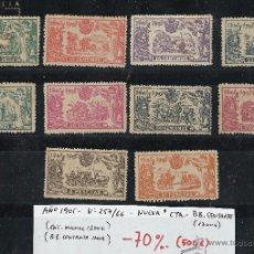 Sellos: AÑO 1905 Nº 257/66 NUEVA CHARNELA BUENOS CENTRAJES.-CATÁLOGO 1250/1700€. Lote 48733371