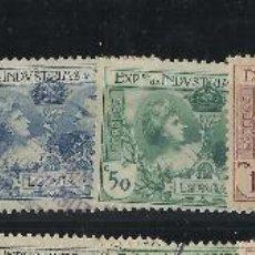 Sellos: SR 1/9 USADOS AUTENTICOS AÑO 1907 CATÁLOGO 72€. Lote 48733660