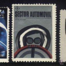 Sellos: S-5044- BARCELONA. FERIA SECTOR AUTOMOVIL.1966, 1967 Y 1968. Lote 32405210