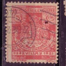 Sellos: CL2-14-VIÑETA PRO HERIDOS DE LA GUERRA 1921. USADO SEVILLA. Lote 48907697