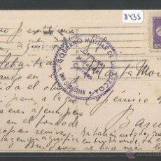 Sellos: POSTAL SAN SEBASTIAN - CENSURA MILITAR DE CORREOS. Lote 49689572