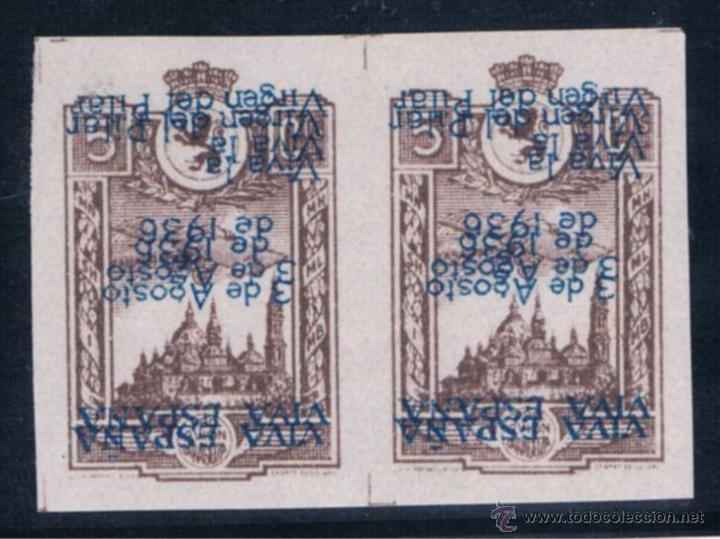 ZARAGOZA 790 DI* (Sellos - España - Guerra Civil - De 1.936 a 1.939 - Nuevos)