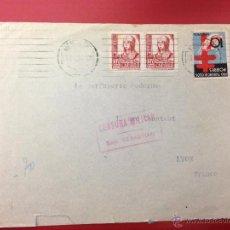 Sellos: CENSURA MILITAR CIUDAD RODRIGO 1938. Lote 49885437