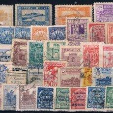 Stamps - LOTE DE 44 SELLOS LOCALES NACIONALES NUEVOS O USADOS - 49894676