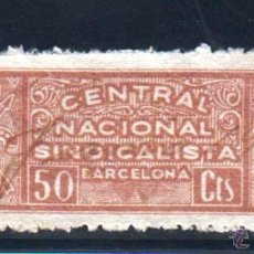 Sellos: BARCELONA. 50 CTS CASTAÑO C.N.S. Lote 50085830