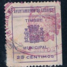 Francobolli: LEGANES (MADRID) NO CATALOGADO 25 CTS. Lote 50288924