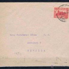 Sellos: 1937.- BURGOS A SEVILLA. Lote 50603815
