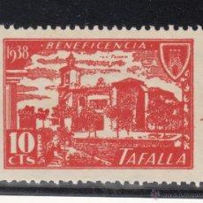 Sellos: ,,LOCAL NACIONALISTA TAFALLA (NAVARRA) B854 CON CHARNELA, BENEFICENCIA, . Lote 51234680
