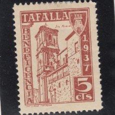 Sellos: ,,LOCAL NACIONALISTA TAFALLA (NAVARRA) 693 CON CHARNELA, BENEFICENCIA. Lote 51234809