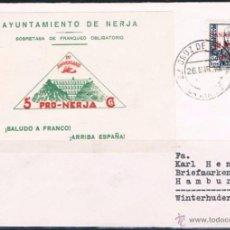 Sellos: 1939.- STA CRUZ DE TENERIFE A ALEMANIA. Lote 52159427