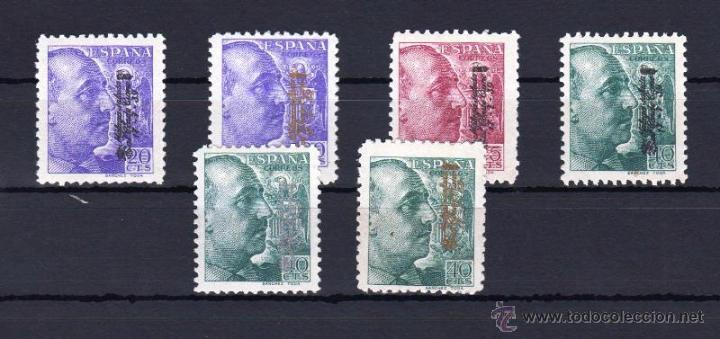 MALAGA. EDIFIL 60/65 * CONDE CIANO (Sellos - España - Guerra Civil - De 1.936 a 1.939 - Nuevos)