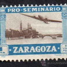 Sellos: PRO-SEMINARIO ZARAGOZA - 1 PESETA - CON GOMA - NUEVO. Lote 52574158