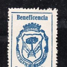 Sellos: ,,LOCAL NACIONALISTA MANZANILLA (HUELVA) 441A CON CHARNELA, BENEFICENCIA, . Lote 52805062