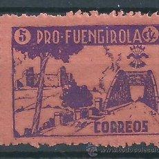 Sellos: R6/ ESPAÑA, GUERRA CIVIL, FUENGIROLA MÁLAGA, FESOFI Nº 4 * *. Lote 53454783