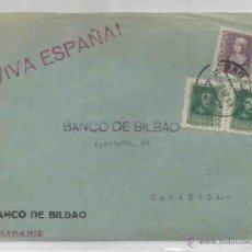 Sellos: FRONTAL. BADAJOZ. ZARAGOZA.VIVA ESPAÑA. ISABEL LA CATÓLICA 40 CTS. FERNANDO EL CATÓLICO. 1938. Lote 53769149
