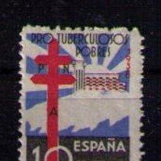 Sellos: ESPAÑA 1938 - PRO TUBERCULOSOS - EDIFIL Nº 866. Lote 54207320