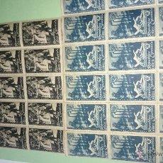 Sellos: HOMENAJEA LOS OBREROS DE SAGUNTO EN LA REPUBLICA- 1938-175 SERIES-350 SELLOS . Lote 54534291