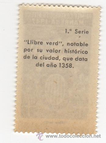 Sellos: viñeta de manresa primer congreso filatelico manresa 1947 llibre verd 1ª serie - Foto 2 - 54649990
