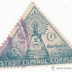 Sellos: HUÉRFANOS DE CORREOS. EDIFIL 20..VIRGEN DEL PILAR. USADO. Lote 54791963