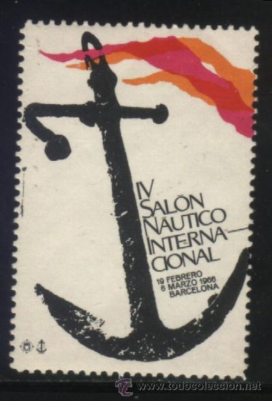 S-0165- BARCELONA 1966. IV SALON NAUTICO INTERNACIONAL. (Sellos - España - Guerra Civil - Viñetas - Nuevos)