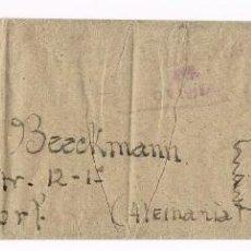 Sellos: OVIEDO ALEMANIA 1938 GUERRA CIVIL - SASTRERIA SEBASTIAN BURJONS - CURIOSO. Lote 55113766