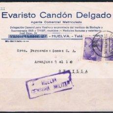 Sellos: 1939.- HUELVA A SEVILLA. Lote 56570070