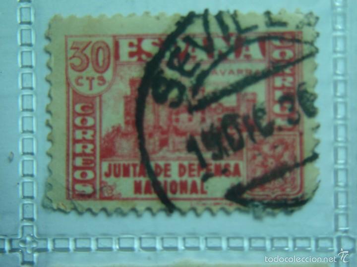30 CENTIMOS JUNTA DE DEFENSA NACIONAL NAVARRA (Sellos - España - Guerra Civil - De 1.936 a 1.939 - Nuevos)